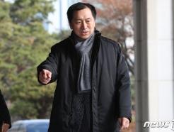 [사진] 김기현 전 울산시장, '청와대 하명수서' 의혹 검찰 출석