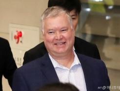 [사진]미소보이는 스티븐 비건 대표