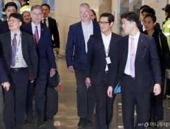 [사진]입국하는 스티븐 비건 美 국무부 대북특별대표