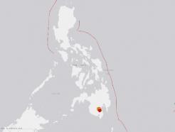 """필리핀 남부서 규모 6.8 강진…""""쓰나미 위험은 없어"""""""