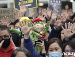 [사진] 홍콩시민 '5개 요구사항 양보 못한다!'