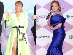 """""""아이돌·배우 저리가라""""…'연예대상' 박나래 드레스 패션"""