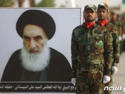 """이라크 최고성직자 """"美·이란, 우리땅서 싸우며 주권침해"""""""