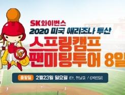 SK, 애리조나 스프링캠프 팬 투어 참가자 모집... 6박8일 일정