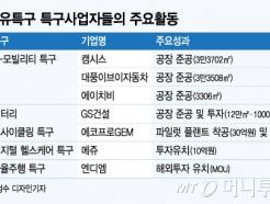 """7개 규제자유특에 58곳 둥지…""""신산업·지역발전 시동"""""""