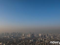 [사진] 서울, 미세먼지 그리고 파란 하늘