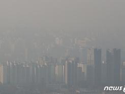 [사진] 미세먼지로 뿌연 서울
