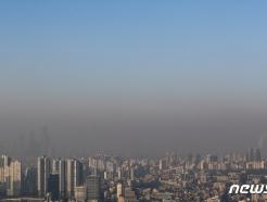 [사진] 파란 하늘이 그리운 서울