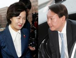 """추미애-윤석열 '슈퍼위크'…윤""""대검 중간간부는 남겨달라""""(종합)"""