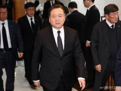 [사진]허영인 SPC 회장, 故 신격호 회장 조문
