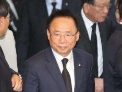[사진]고 신격호 명예회장 빈소 찾은 이주영 국회부의장