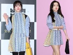 한지민-레드벨벳 아이린, 같은 옷 다른 느낌