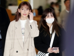 [사진]사쿠라-나코 '일본 일정마치고 입국'