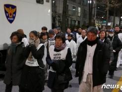 """[사진] '마사회 비리 폭로' 故 문중원 유족 """"정부가 해결하라"""""""