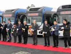 [사진] 전국최초로 세종시에서 운행하는 전기굴절버스