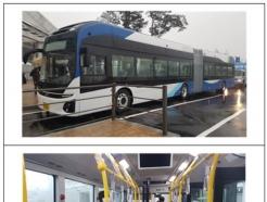 세종서 23일부터 국내 최초 전기굴절버스 운행시작