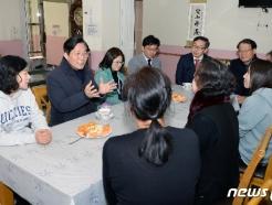 [사진] 평안의 집 방문한 성윤모 장관