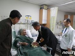 [사진] 박삼득 국가보훈처장, 중앙보훈병원 방문