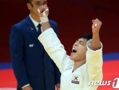 유도 간판 안바울, 1년 6개월 만 국제대회 우승! '그랑프리 金'