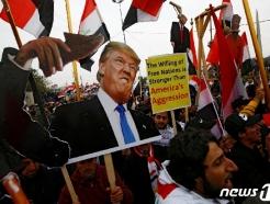 """이라크서 수천명 반미 시위…""""미군 나가·미국에 죽음을"""""""