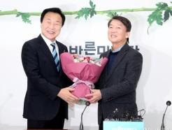 손학규 만난 안철수