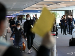 중국발 모든 입국자들, 건강상태질문서 의무 제출