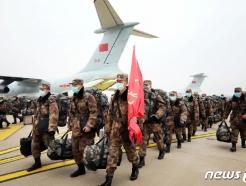 중국, 인민군 신종코로나 최전선에 3500명 투입