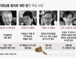 양승태·박근혜·조국…'직권남용 재판' 본게임 돌입