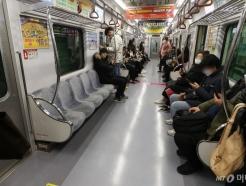 출근길 역대급 한산한 대구 지하철