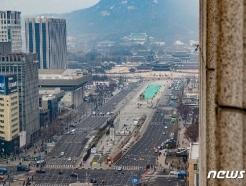 [사진] 코로나19 예방 차원 광화문 집회 전면 불허