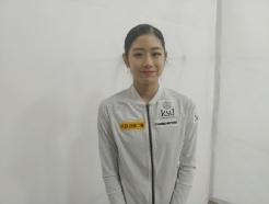 """'유영 이어 2위' 이해인 """"언니와 라이벌? 경쟁은 얼음 위에서만"""" [★현장]"""