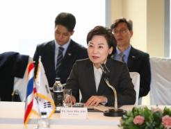 김현미, 태국 도로사업 수주 나섰다
