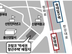 코람코자산신탁, 롯데건설과 용산 역세권 청년임대주택 개발