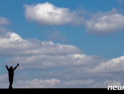[사진] '파란하늘 반가워'
