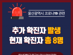 [속보] 울산서 코로나19 8번째 확진자 발생…병원 근무자