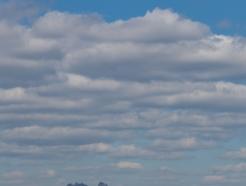 [사진] 맑은 하늘 바라보자...'코로나19는 잠시 잊어요'