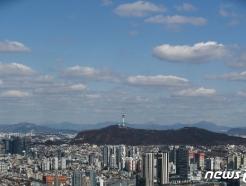 [사진] 코로나19로 지친 마음 달래주는 파란하늘