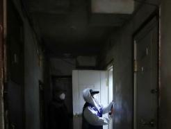 [사진] 코로나19 예방 위한 쪽방촌 방역