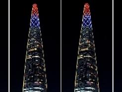 [사진] 코로나19 응원 메시지 밝힌 롯데월드타워 '우리 모두 힘내요'