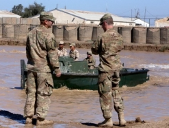 이라크 미군 기지 로켓포 피격으로…최소 3명 사망