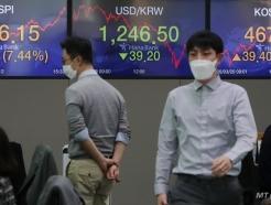 '코스피-코스닥 급반등-원/달러 환율 급락 마감'
