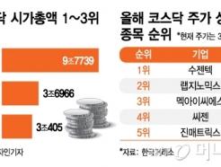 '주가 278%↑' 씨젠, 코스닥 시총 3위로…톱3 모두 '바이오'