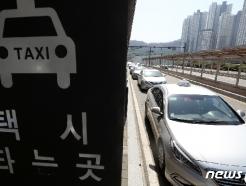 [사진] '빈차는 많은데…' 손님 기다리는 택시