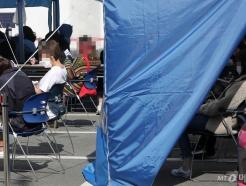 [사진]코로나19 검사 기다리는 시민들