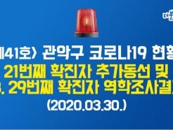 관악구 28·29번 확진자 동선 공개… 구로만민중앙교회 신도