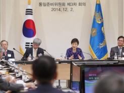 이명박 '대운하주' 박근혜 '통일대박주'…임기말 씁쓸한 말로