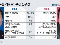 [부산 진구갑]김영춘·서병수, 정치 거물들의 '한판' 대결