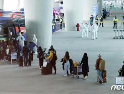 '韓 의료품 운송' 모로코 정부 항공편으로 교민 등 100여명 귀국