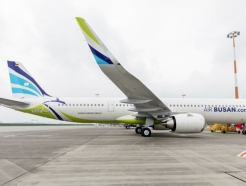 에어부산, 신형 항공기 A321LR '부산-김포' 노선 첫 운항
