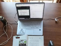 [사진] 학교 대신 집에서...코로나19 여파로 사상 초유의 '온라인 개학'